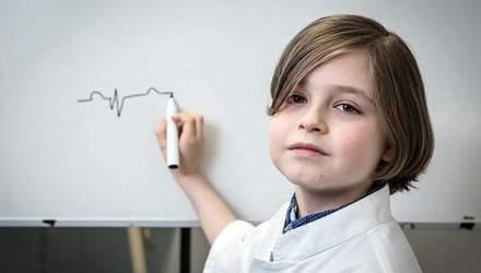 Вперше 9-річний хлопчик отримає диплом про вищу освіту