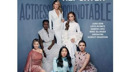 Женская сила: именитый глянец представил обложку с первыми актрисами Голливуда