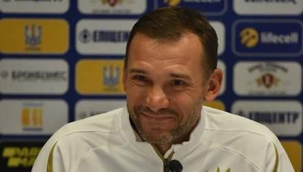 В матчах против Эстонии и Сербии можно ожидать дебютантов, – Андрей Шевченко