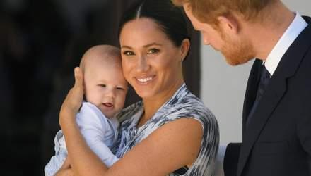 Меган Маркл и принц Гарри показали редкое фото 6-месячного сына