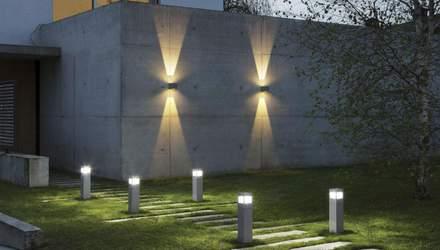 Уличные светильники: типы ламп и способы установки