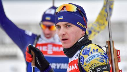 Украинец Дмитрий Пидручный победил на открытом чемпионате Швеции по биатлону
