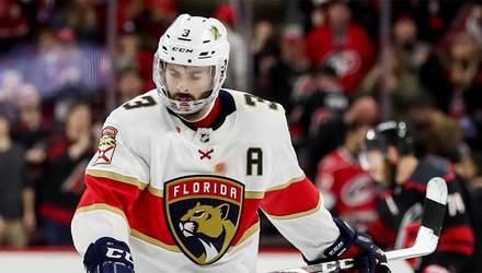 Хокеїст втратив 9 зубів в НХЛ після болісного удару шайбою: моторошне відео