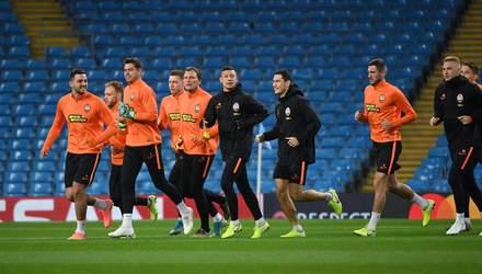 """""""Шахтар"""" провів відкрите тренування напередодні матчу з """"Манчестер Сіті"""": ефектні фото"""