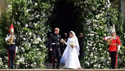 Принц Гарри и Меган Маркл опубликовали фото со свадьбы, которого еще не было в сети