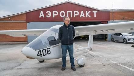 Юрій Яковлєв – творець надлегких літаків, відомих на весь світ
