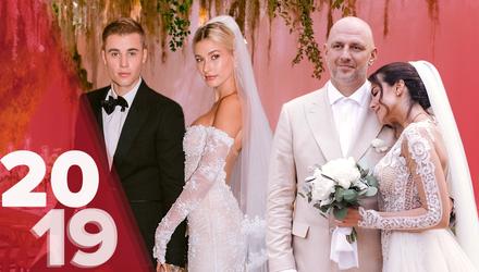 Підсумки 2019 року: найбільш обговорювані весілля зірок