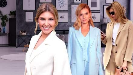 Перша модниця України: якими образами відзначилась Олена Зеленська