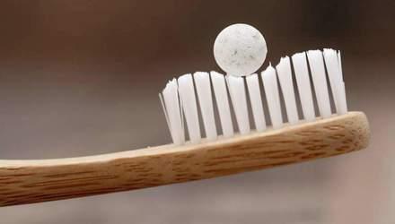 Создали зубную пасту в форме таблеток: фото