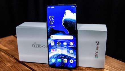 Обзор смартфона OPPO Reno 2: стильный камерофон по доступной цене