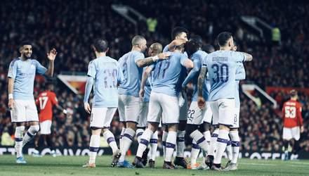"""Ман Сити"" нанес унизительное поражение ""Манчестер Юнайтед"" на ""Олд Траффорд"": видео"