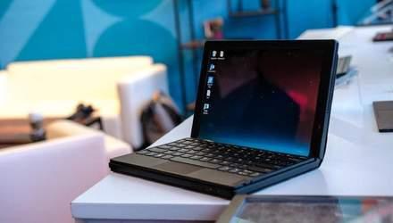 Lenovo представила ThinkPad X1 Fold – перший у світі ноутбук з гнучким дисплеєм: фото
