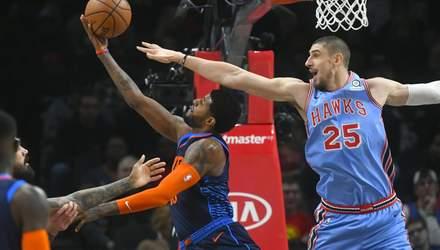"""Михайлюк провів чергову впевнену гру в НБА, """"Оклахома"""" розбила команду Леня – відео"""