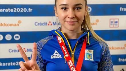 Украинка Терлюга завоевала серебро на турнире серии Karate1 Premier League, проиграв россиянке