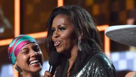 Мишель Обама стала обладательницей Грэмми