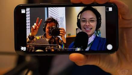 Нова функція iPhone: тепер можна знімати одразу на дві камери