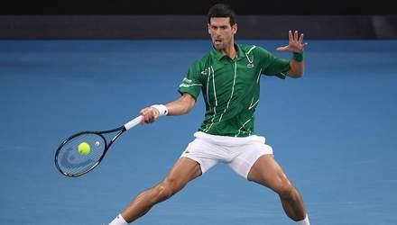 Джокович без проблем переміг Федерера та вийшов у фінал Australian Open