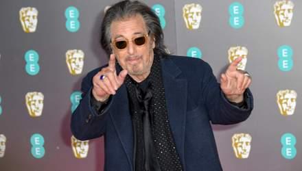 Конфуз на BAFTA-2020: 79-річний Аль Пачіно впав на червоній доріжці