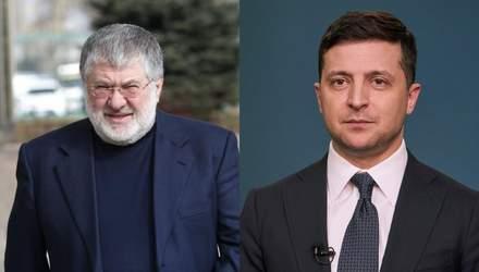 """Обыски на """"1+1"""" и блокирование рынка земли: Коломойский испытывает терпение Зеленского"""