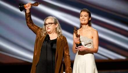Українка Олена Андрейчева отримала нагороду на Оскарі-2020