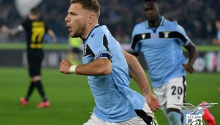 """""""Лацио"""" победил """"Интер"""" и поднялся на второе место в чемпионате Италии: видео"""
