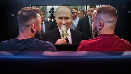 Нерейтинговый царь Путин, взрывная колбаса в РФ – Недиванная сотня