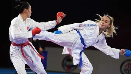 Терлюга стала першою в історії України каратисткою з ліцензією на Олімпійські ігри