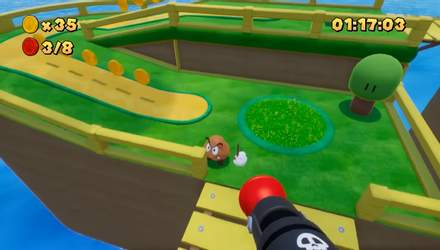 Super Mario Bros превратили в шутер от первого лица