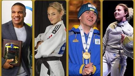 Беленюк, Билодид, Пидручный и Харлан посоревнуются за спортивного героя года