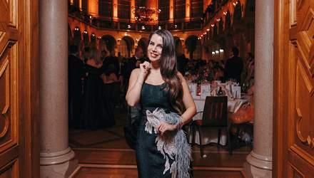 Христина Соловий открыла бал в Вене: эффектные фото и видео
