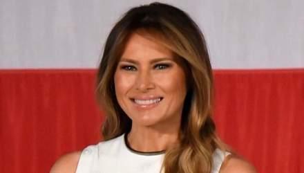 Меланія Трамп отримала нагороду в США: який образ обрала перша леді для церемонії