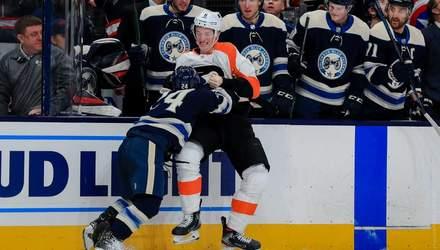 У матчі НХЛ 165-сантиметровий хокеїст уклав на лід двометрового здорованя: відео бійки