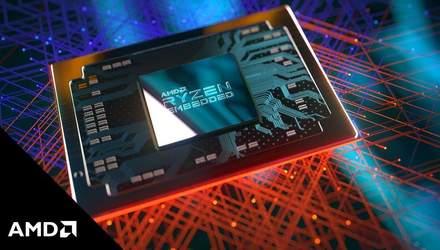 AMD анонсувала нові процесори Ryzen Embedded: характеристики