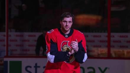 Хокеїст оформив хет-трик в першому матчі після лікування від алкоголізму та розплакався: відео