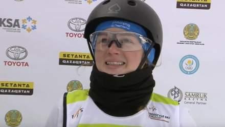Украинка победила в соревнованиях по лыжной акробатике на этапе Кубка мира по фристайлу