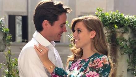 Весілля принцеси Беатріс: син нареченого Едоардо Моцці отримає почесну роль на церемонії