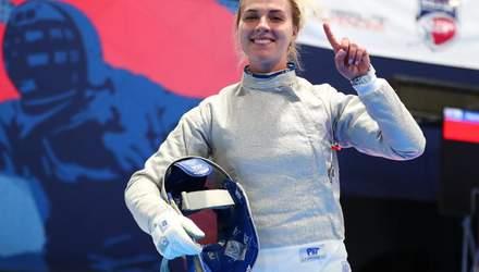 Рекорд Ольги Харлан: українська шаблістка знову найкраща спортсменка місяця