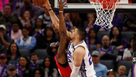 Украинское дерби в НБА: Лень впервые обыграл Михайлюка в результативной игре – видео