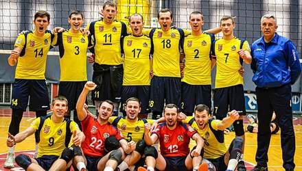 Визначився володар Кубка України з волейболу