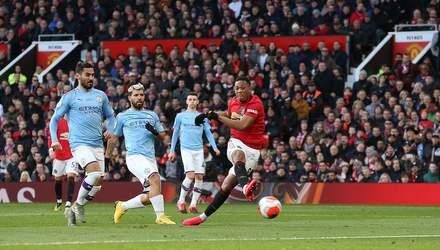 """Манчестер Юнайтед"" третий раз в сезоне победил ""Манчестер Сити"" Зинченко: видео"