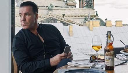 Соліста Rammstein помітили в одному з київських закладів: відео