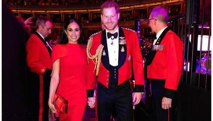 Меган Маркл и принц Гарри совершили потрясающий выход: элегантный образ герцогини Сассекской