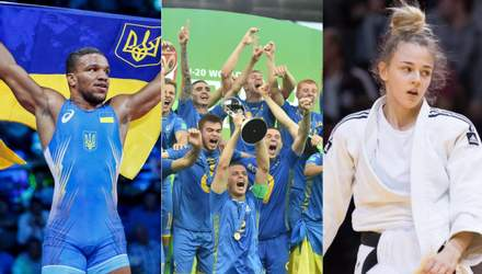 Беленюк, Билодид, сборная по футболу U20: спортивные герои Украины 2019