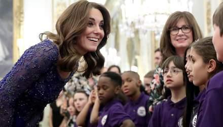 Кейт Миддлтон посетила благотворительный вечер в Букингемском дворце: феерический наряд
