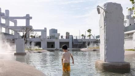 В Тайвані старий торговий центр перетворили на громадський басейн – фото