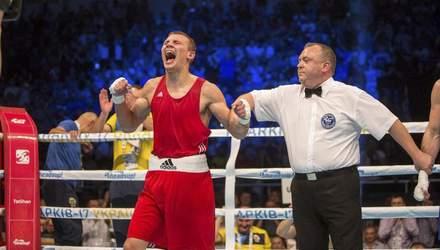 Українець Хижняк нокаутував суперника у боротьбі за ліцензію на Олімпіаду: відео