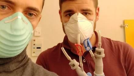 Як життя хворих на коронавірус рятують за допомогою 3D-принтерів: фото