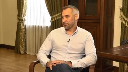 Це тест для Зеленського: Рябошапка дав відверте інтерв'ю про скандал з Єрмаком
