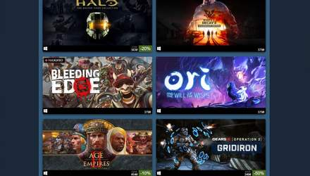 В Steam почався розпродаж ігор Xbox Game Studios зі знижками до 75%