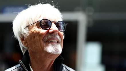 89-річний експрезидент Формули-1 Берні Екклстоун вчетверте стане батьком